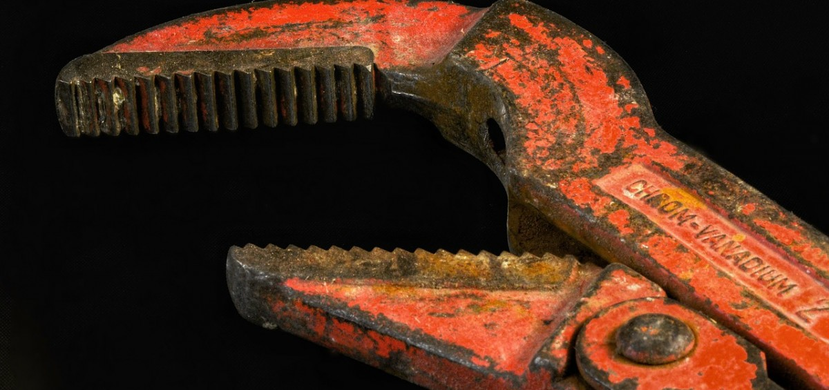 Pipe wrench in Maastricht